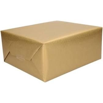 Kadopapier goud inpakpapier uni