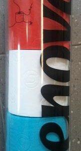 Rood wit blauw toiletpapier