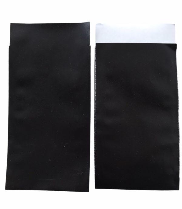 Cadeauzakjes, Zwart 7x13cm. per 200st
