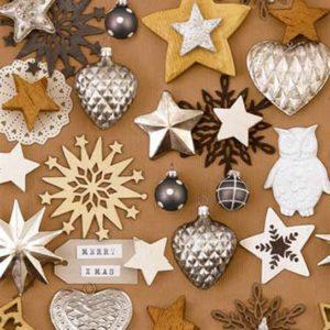Cadeaupapier Kerst: K691400 - Rosendale