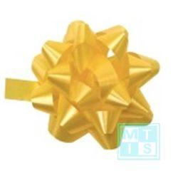Decoratie sterren Geel, per 25st.