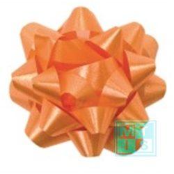 Deco-sterren, Oranje, per 25st.