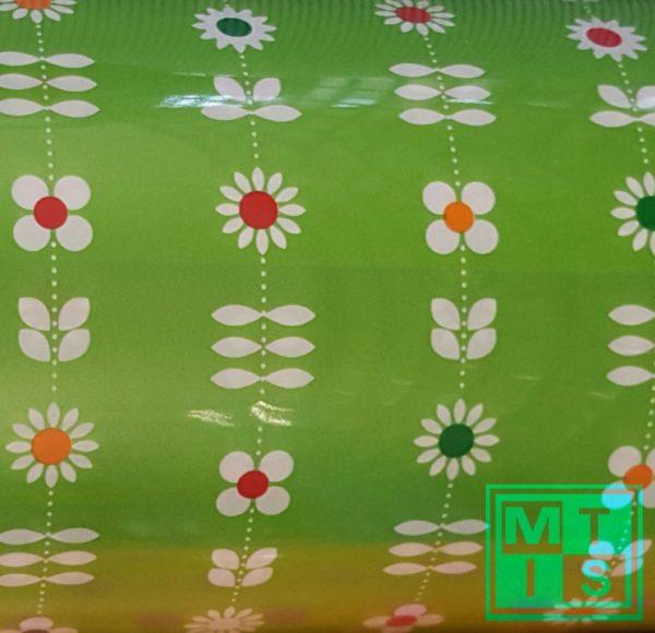 Cadeaupapier bloempatroon MT2040 70cm