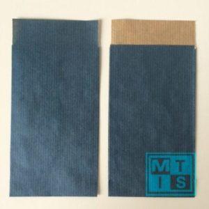 Cadeauzakjes, Blauw 7x13cm. per 200st