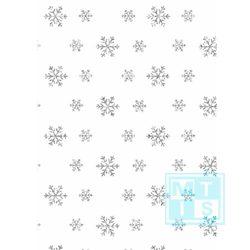 Kerstpapier 6591444-1 Sneeuw