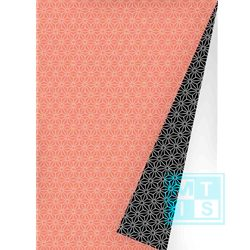 Cadeaupapier Chic Neon Orange Black, K601475-6
