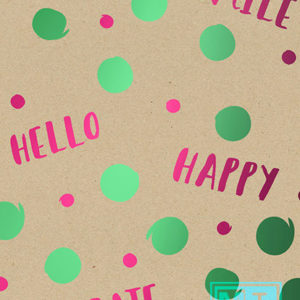 Cadeaupapier Hello Happy Smile K101567/1 (Recycled papier)