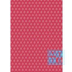 Cadeaupapier kerstmis: K691475/7 Chic Red