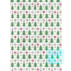 Inpakpapier kerstmis: K691556 Sparkling Forest