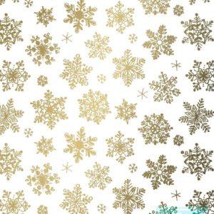 Kerstpapier Sneeuwkristallen K891661-2 MTpapier