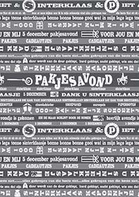 Sinterklaaspapier Dank U Sinterklaasje S691490-3