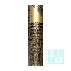 Cadeaupapier C1995 zwart goud