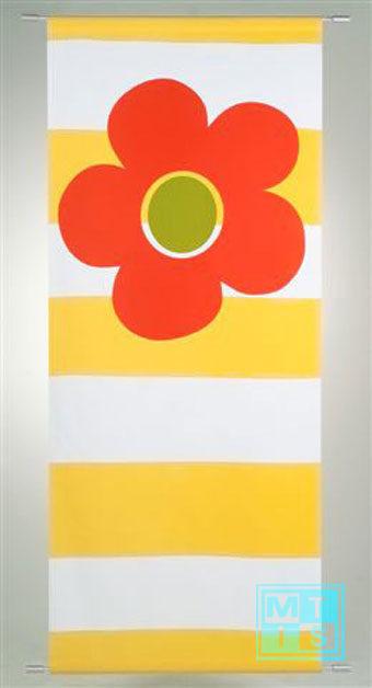 Vaandel/Banier: Happy Yellow