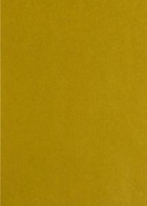 Bedrukt kraftpapier Uni Fluor Geel Goud