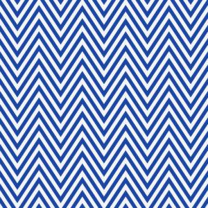 Cadeaupapier Blauw Zigzag Motief K601889-4