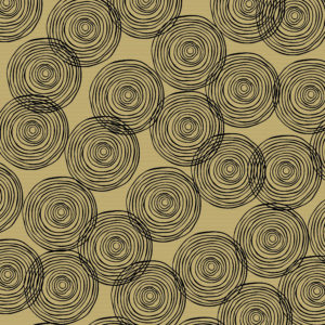 Inpakpapier met zwarte cirkels K401759-3