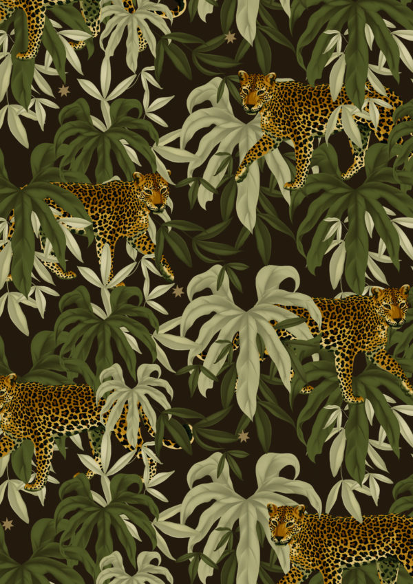 Cadeaupapier Jungle Tijger K601967-1