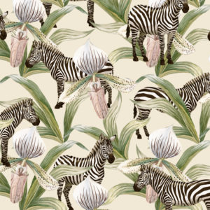 Cadeaupapier Jungle Zebra K601968