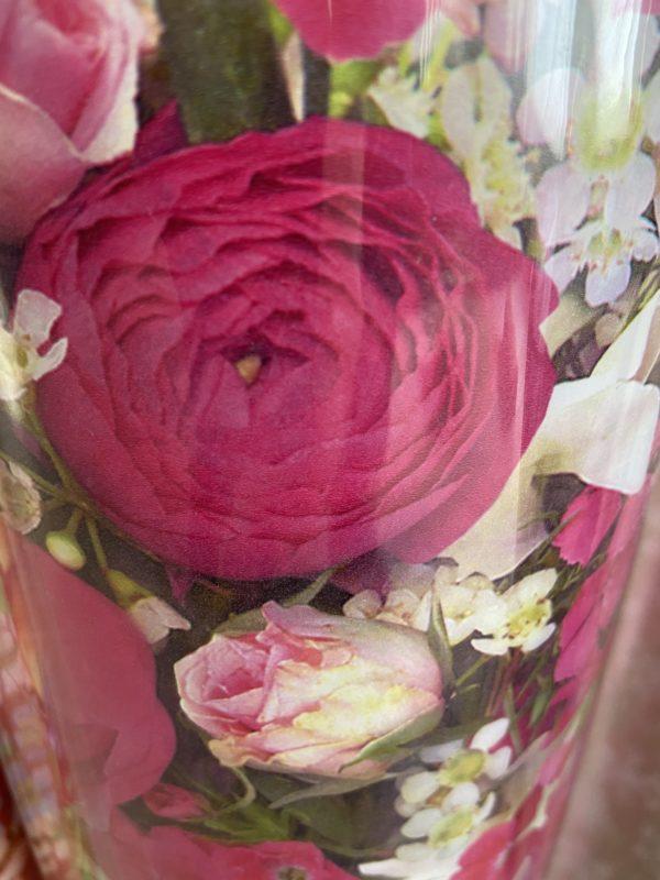 Inpakpapier C4044 Bloemen Roze