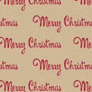 Merry Christmas Cadeaupapier