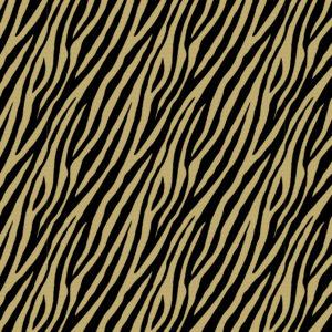 Cadeaupapier Zebra Bruin met Zwart