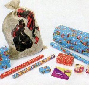Scotch - Sinterklaas - Inpakpakket - Inpakpapier - Jutezak - Tape