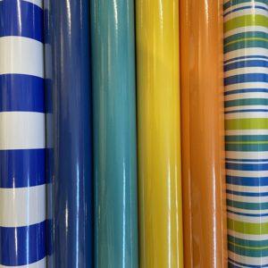 Cadeaupapier Kleine rollen 150 x 70cm Uni & Strepen