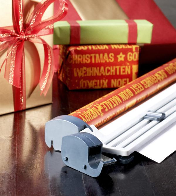 Papiersnijder Cadeaupapier Snijmachine consumentenrollen Ingepakt