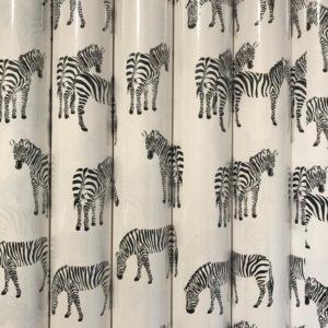 6 rollen Cadeaupapier Zebra
