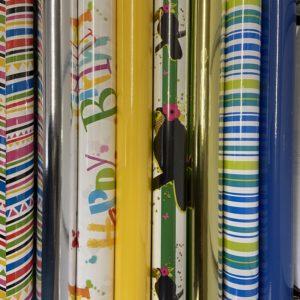 Cadeaupapier 8 rolletjes 200x70cm Diversen