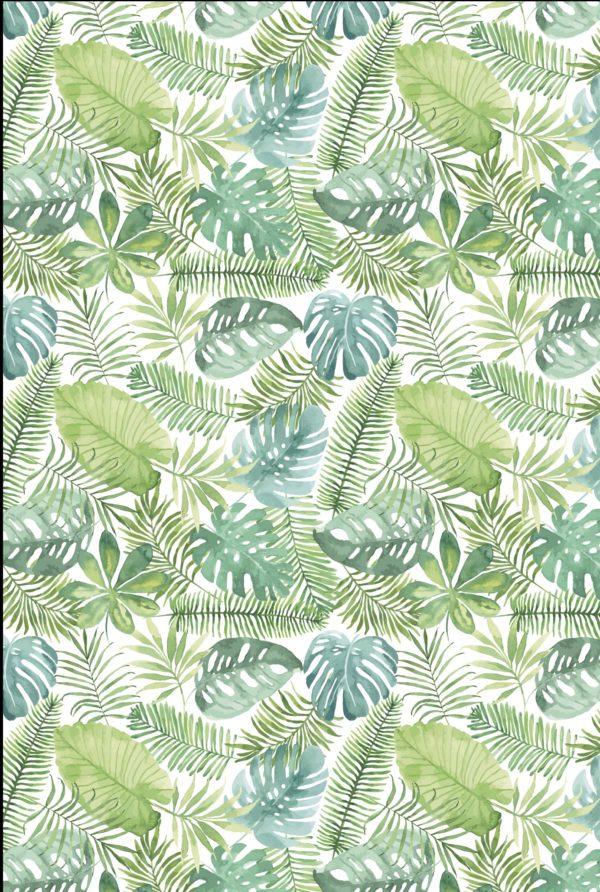 Cadeaupapier Tropische Bladeren