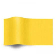 Geel Vloeipapier Zijdepapier op rol