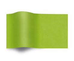 Vloeipapier Zijdepapier Groen op rol