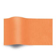 Oranje Vloeipapier Zijdepapier Oranje op rol