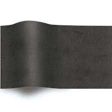 Zwart Zijdepapier Vloeipapier Zwart op rol