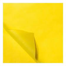 Bedrukt Zijdepapier Vloeipapier Geel op rol