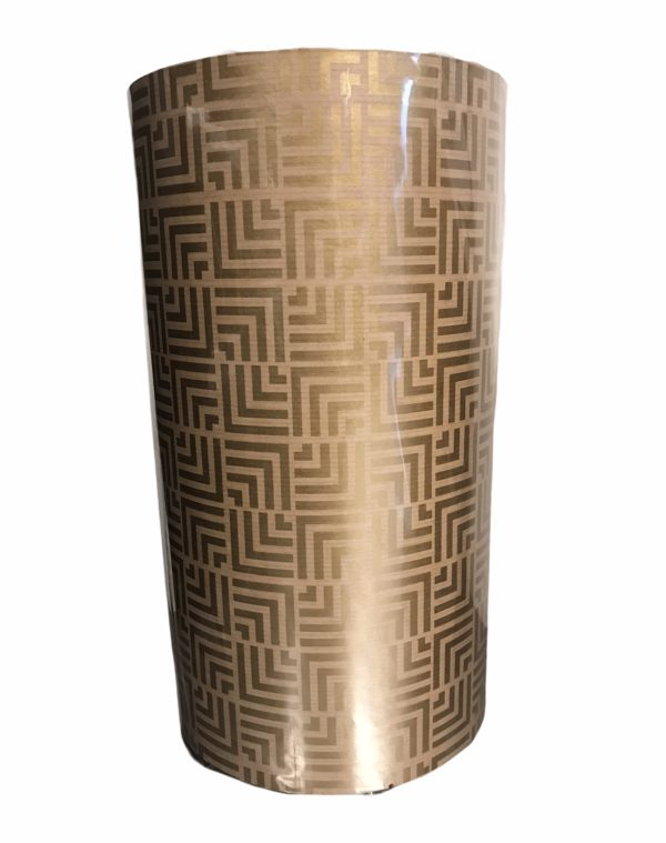 Kraftpapier met Gouden Patroon C4101