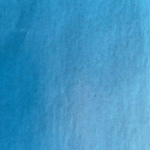 Bedrukt Zijdepapier Vloeipapier Blauw op rol