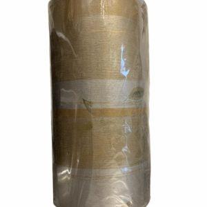 Bruin Kraftpapier met Bladeren C4126