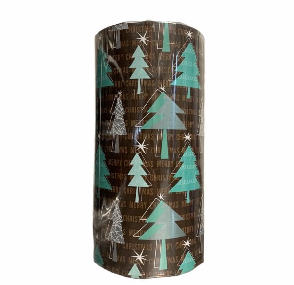 Bruin Cadeaupapier Christmas Vibe C4135