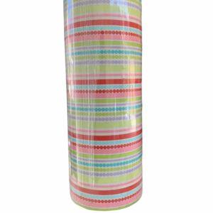 Gekleurd Inpakpapier Strepen Stippen C4140