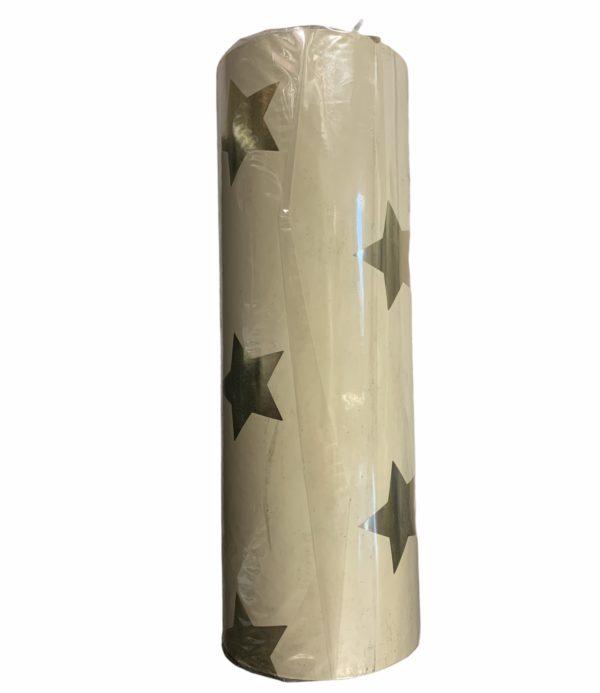 Cadeaupapier Geel met Sterren C4165