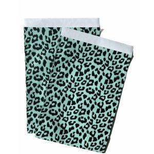 Cadeauzakjes Leopard Panter Zwart Mint