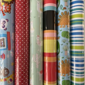Kids cadeaupapier 6 rolletjes 200x70cm Kinderen