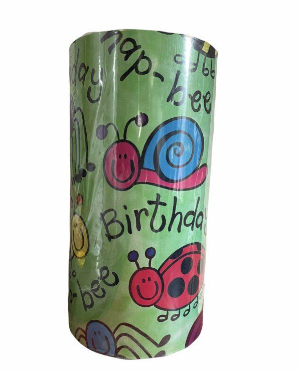 Kinder Inpakpapier Birthday Dieren
