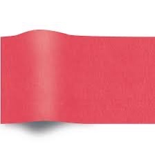 Rood Zijdepapier Vloeipapier op rol