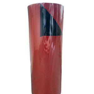 Dubbelzijdig Cadeaupapier Rood Zwart